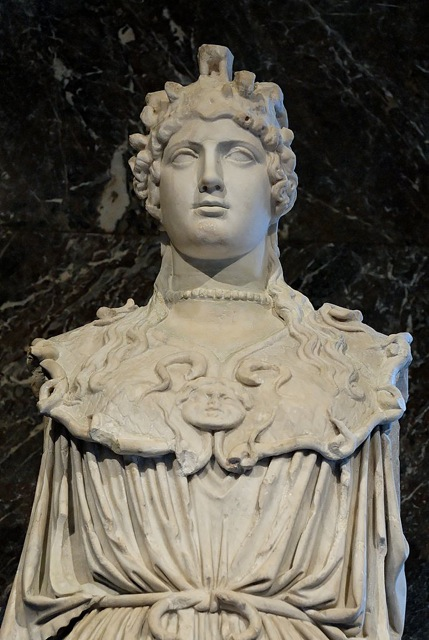 Athena Parthenos Louvre Ancient Art Podcast