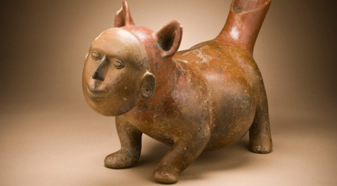 Dog with Human Mask (LACMA)