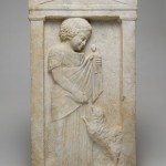 Grave Stele of Melisto (Harvard)