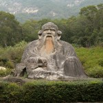 Statue of Lao Tzu in Quanzhou