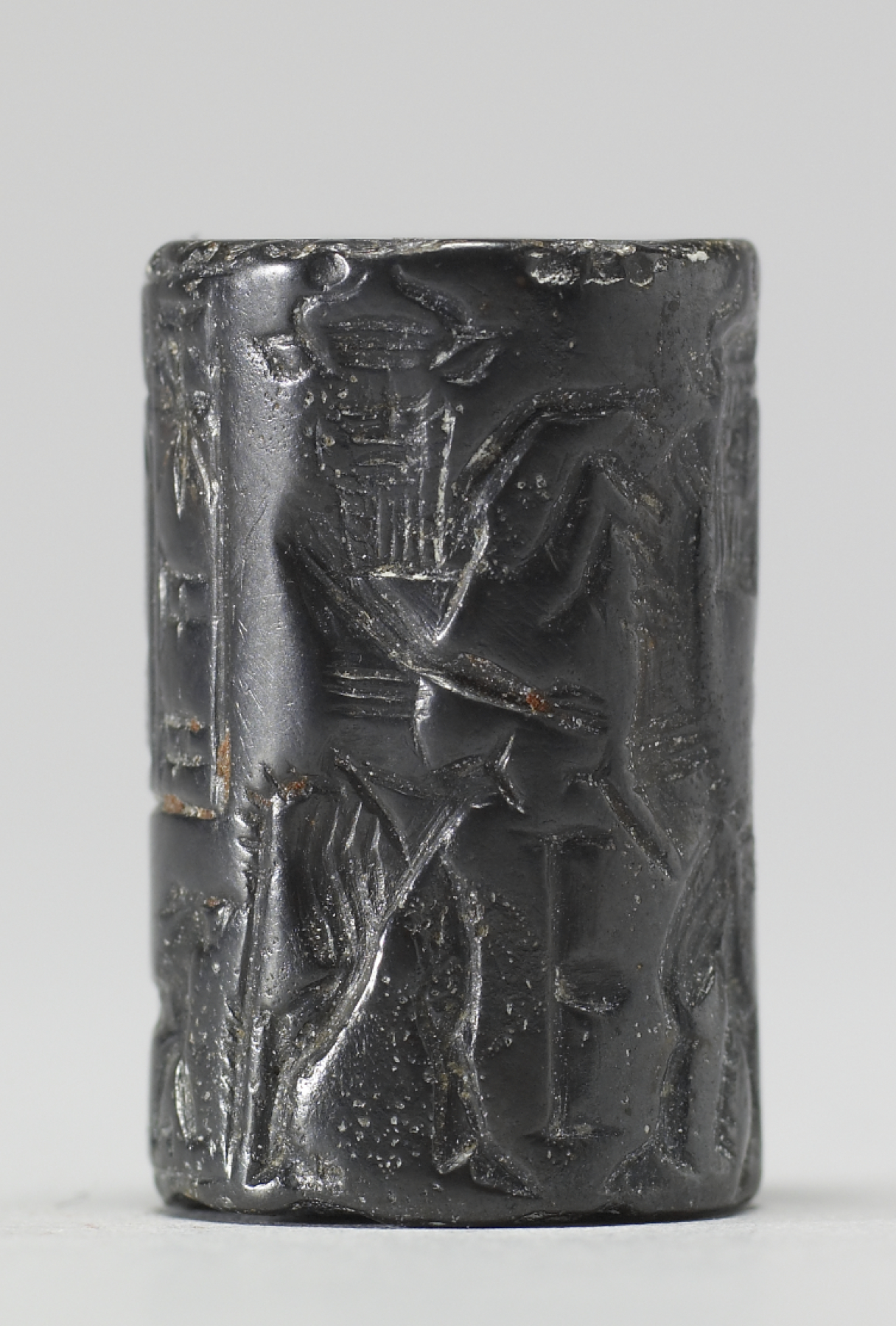 Enkidu Vanquishing the Bull of Heaven (Walters)