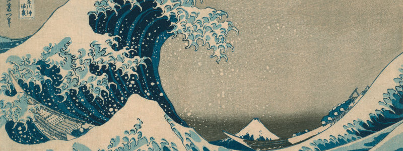 The Great Wave by Katsushika Hokusai (AIC 1925.3245)
