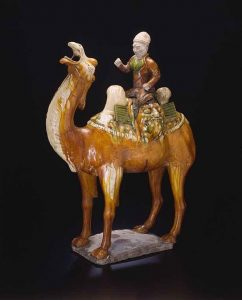 Camel and Rider, China, Tang dynasty (618–907 A.D.), first half of 8th century, Art Institute of Chicago, 1969.788a-b.