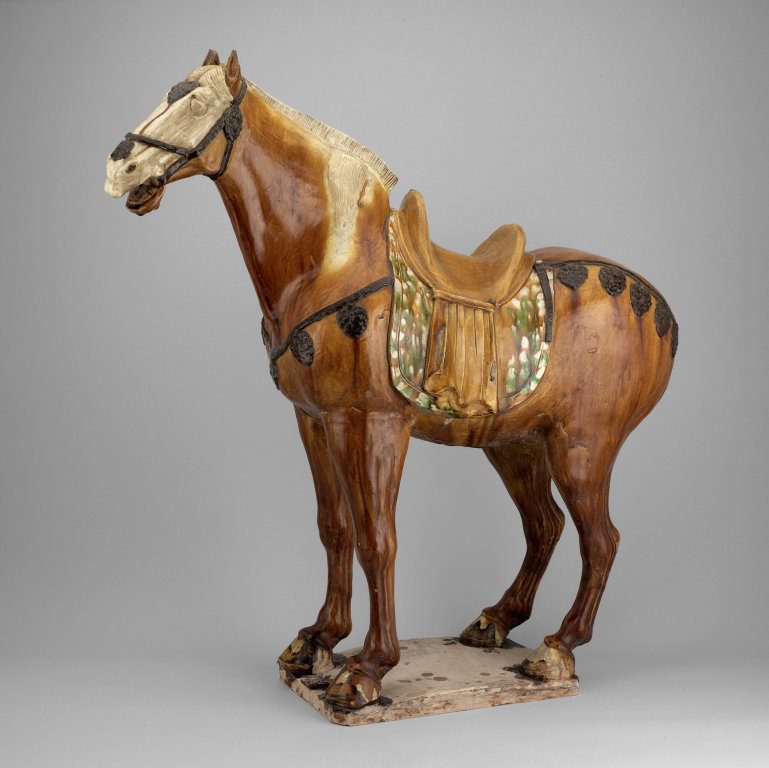 Chinese ceramic figurine of a horse