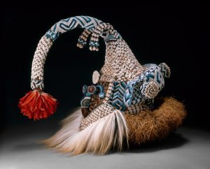 Mask (Mukenga), Kuba, Western Kasai region, Democratic Republic of the Congo, Art Institute of Chicago, 1982.1504