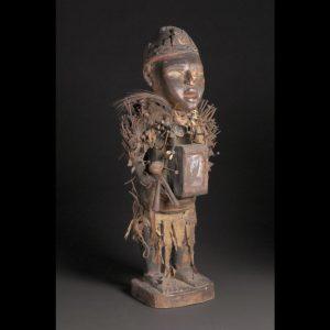 Power Figure (Nkisi Nkondi), Vili, Republic of the Congo or Democratic Republic of the Congo, Art Institute of Chicago, 1998.502