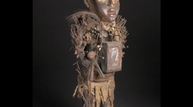 Power Figure (Nkisi Nkondi), Vili, Republic of the Congo or Democratic Republic of the Congo, Art Institute of Chicago, 1998.502