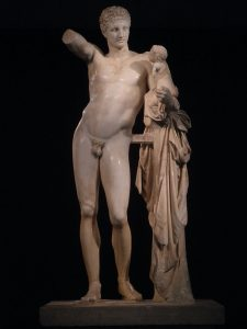 Hermes and the Infant Dionysus, Archaeological Museum of Olympia