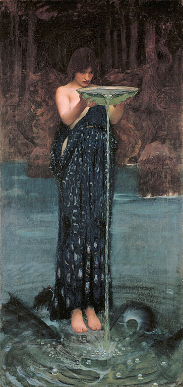 John William Waterhouse, Circe Invidiosa (Jealous Circe), 1892