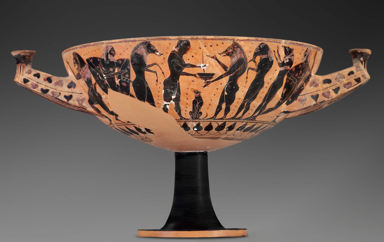 Drinking cup depicting scenes from the Odyssey
