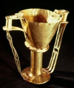 So-called Nestor's Cup, Mycenaean, c. 1550-1500 BC, Athens