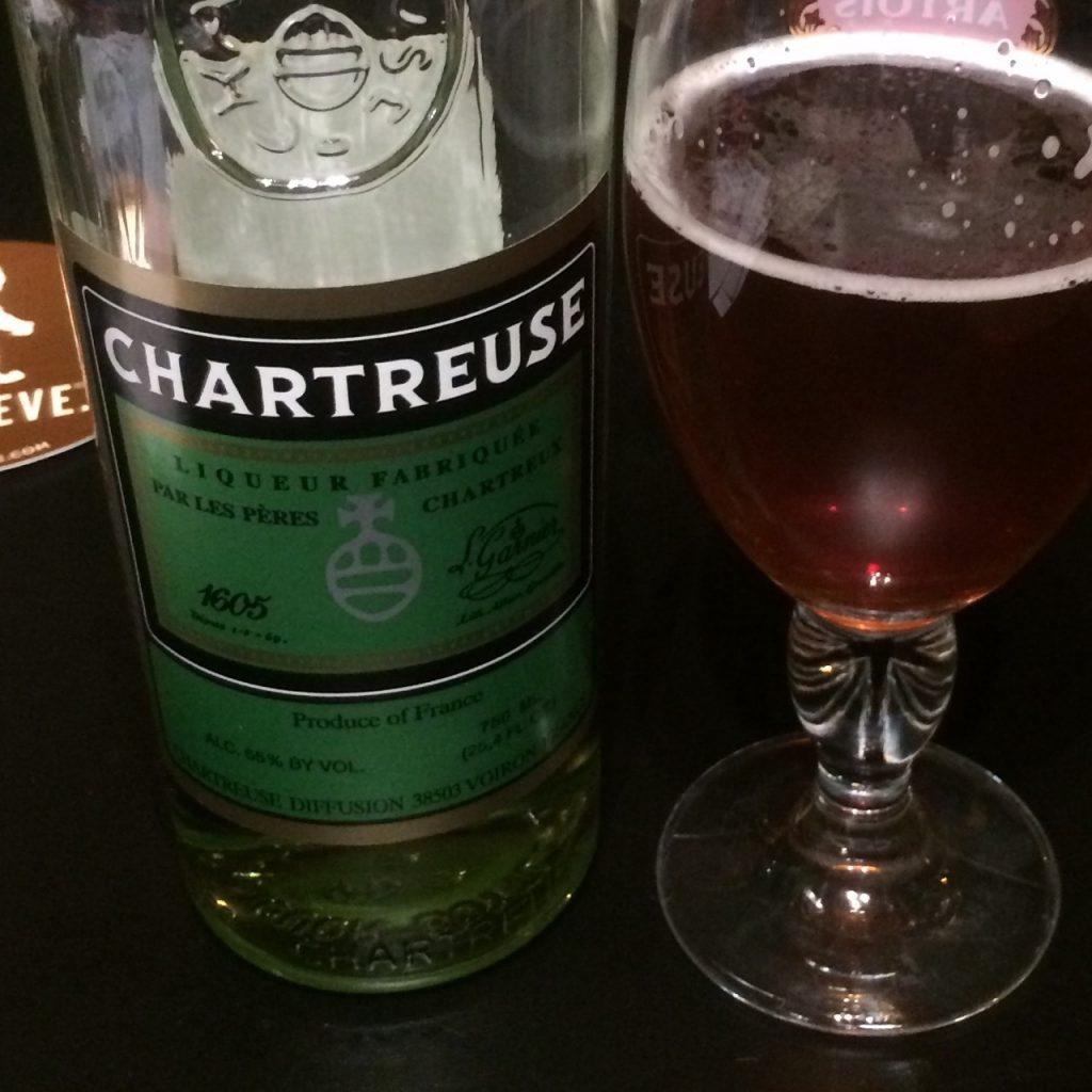 Pseudo-Gruit Chartreuse Saison (1)