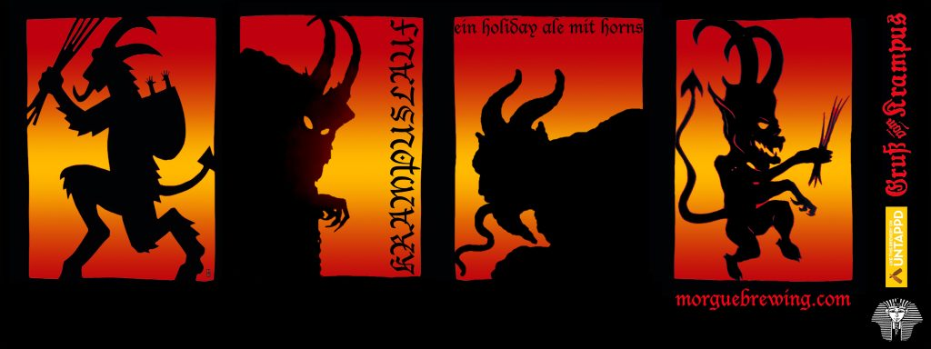 2016 Krampuslauf bottle label
