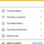 Untappd screen shot