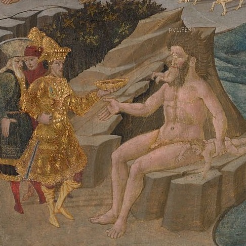 Detail from the Adventures of Ulysses by Apollonio di Giovanni