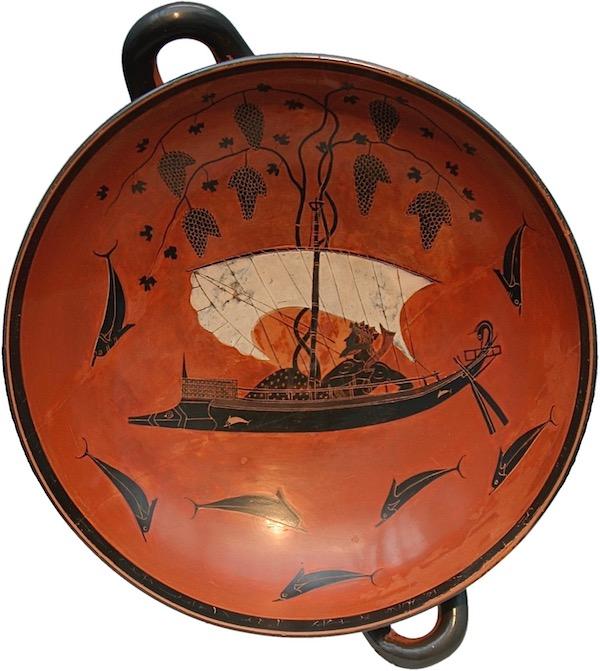 So-called Dionysus Cup by Exekias, ca. 540/530 BC