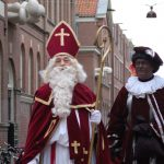 Sinterklaas and Zwarte Piet. Photo by Michell Zappa.