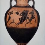 Dolichos runners, Panathenaic Amphora, 530-520 BC (MFA 99.520)