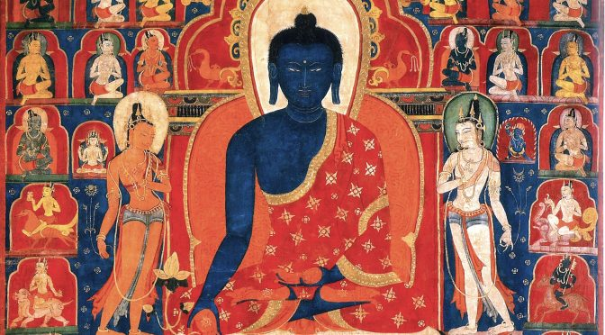Medicine Buddha Bhaishajyaguru – Meaningful Materials (82)