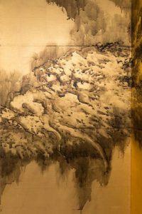 2016.314a-b dragon detail Dragon and Tiger Kishi Ganku 1835