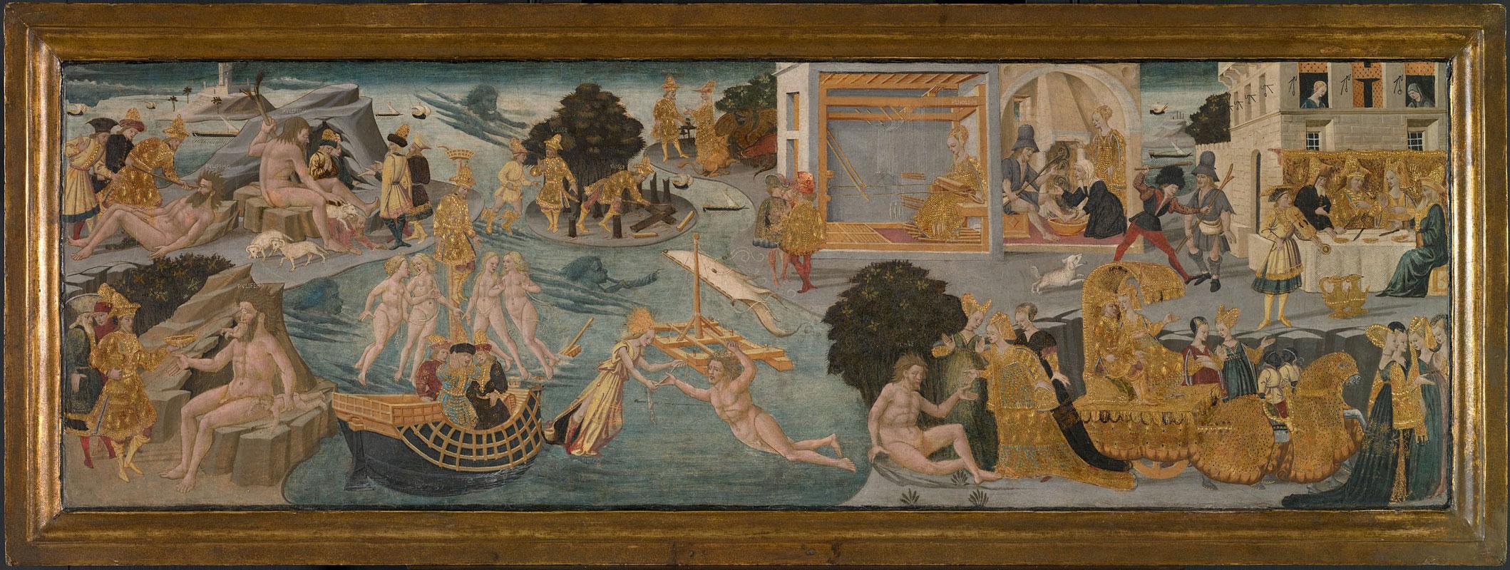 The Adventures of Ulysses by Apollonio di Giovanni