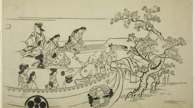 Japanese Ukiyo-e Pictures of the Floating World (91)